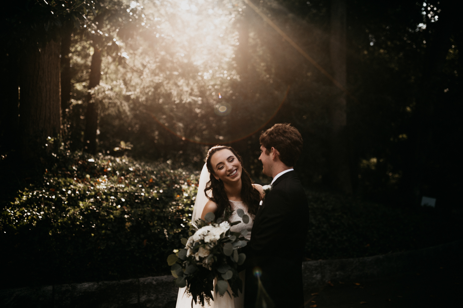 Intimate fall garden wedding at Cator Woolford Gardens