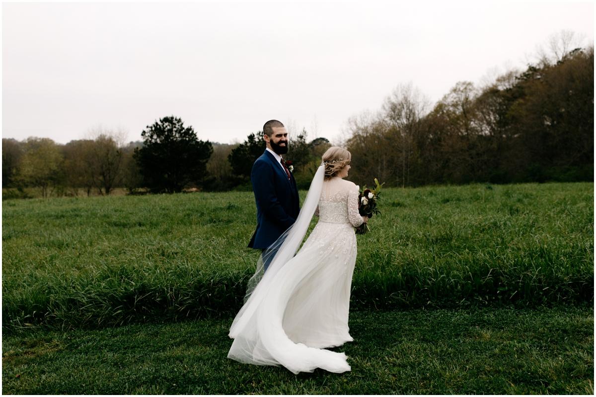 Rainy Atlanta Greenhouse Wedding